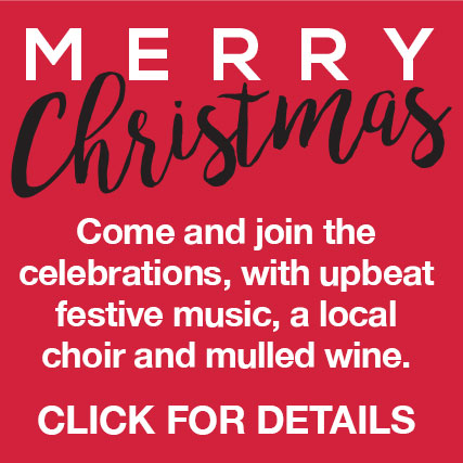 Merry Christmas!*For information on our Christmas events Click Here!