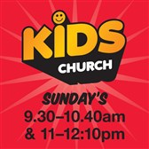 Kids Church* Every Sunday 9:30am and 11am*Click for more info