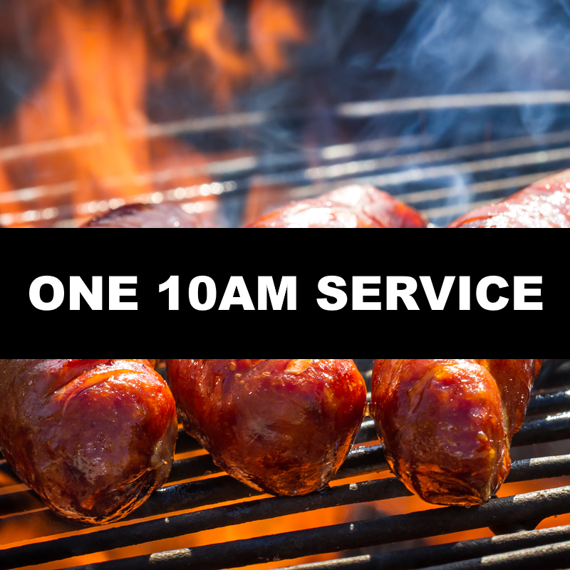 Join us this Sunday 26/05 for ONE 10am service*Followed by a BBQ*Hotdogs £1 each!